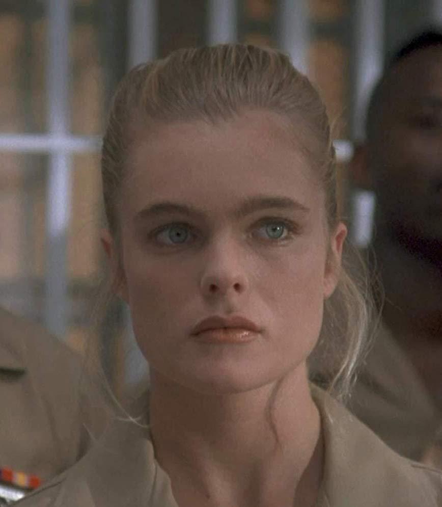 Erika Eleniak as Toni Johnson in Chasers 1994 military uniform