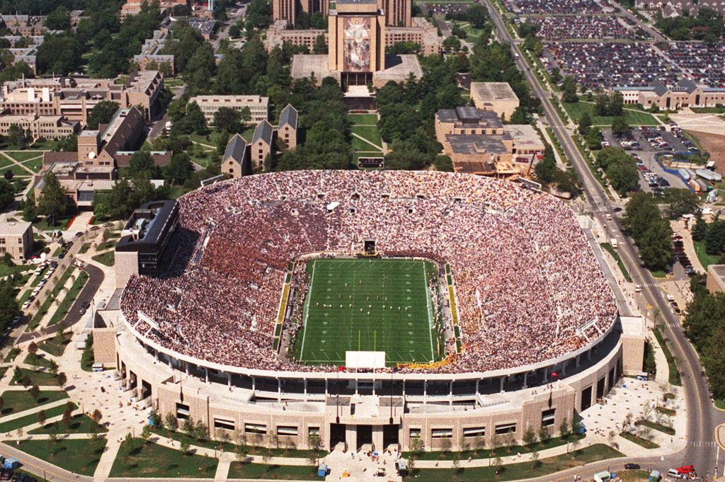 ND football stadium 10 Things You Didn't Know About The Super Bowl