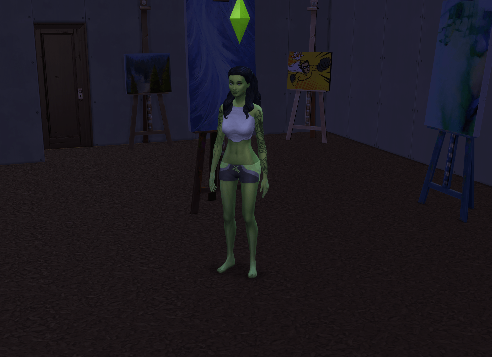 Painting Goblin People Describing The Worst Things They've Ever Done To Their Sims Proves Humanity Is The Worst