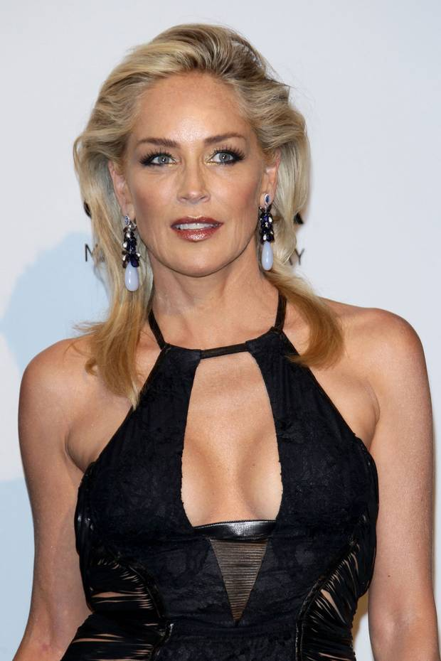 SHARON STONE at amfAR Milano 2012 at Milan Fashion Week 13 Celebs Who Have Been Awful To Their Assistants