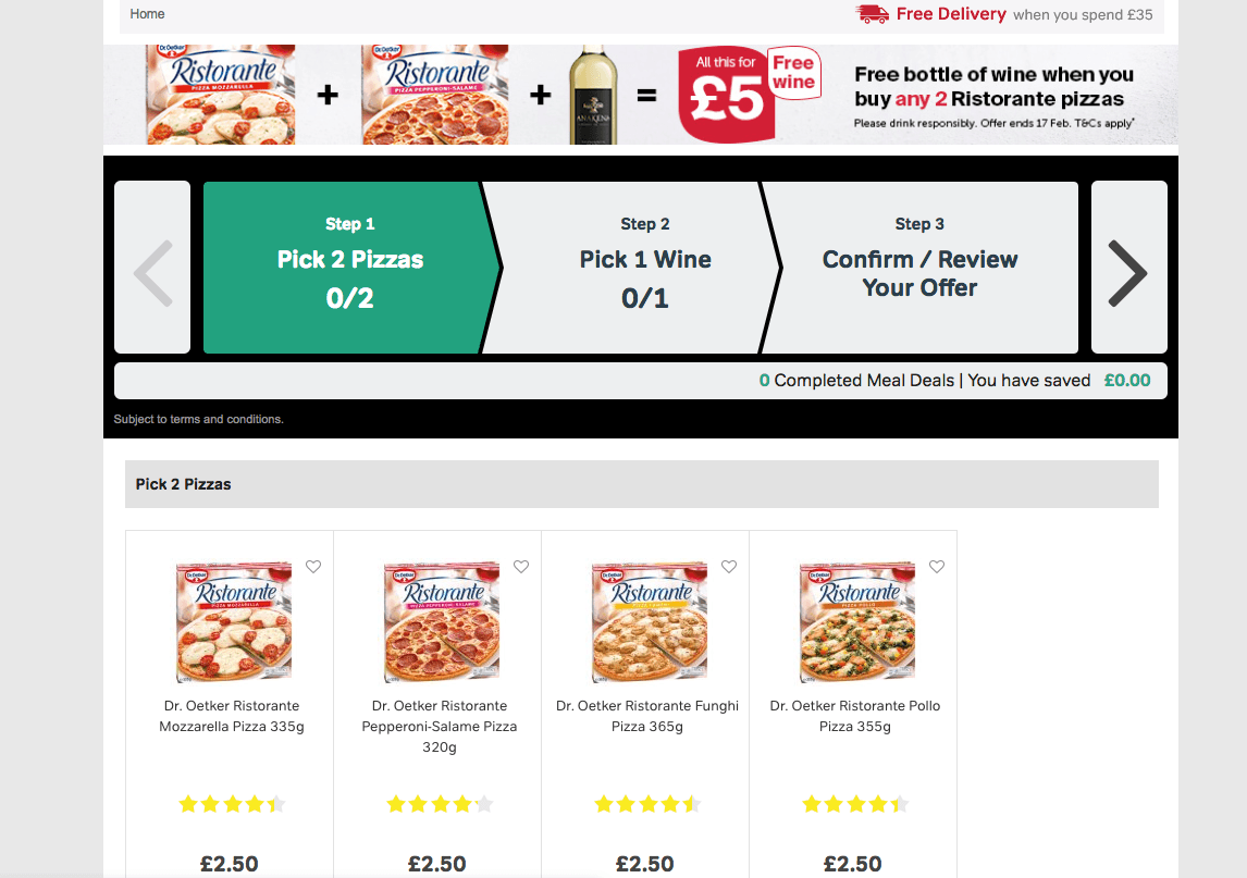 Screen Shot 2019 02 15 at 12.10.56 Iceland's £5 Pizza And Wine Deal Is Back By Popular Demand