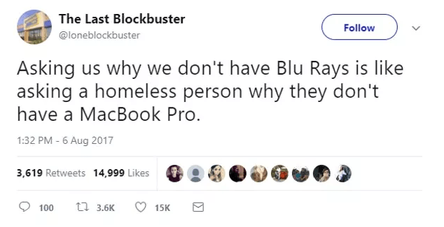 Screen Shot 2019 02 27 at 10.00.56 The World's Last Blockbuster Is Still Going And Posting Hilarious Tweets