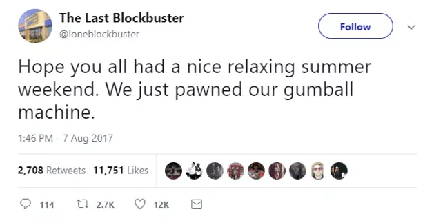 Screen Shot 2019 02 27 at 10.01.17 The World's Last Blockbuster Is Still Going And Posting Hilarious Tweets