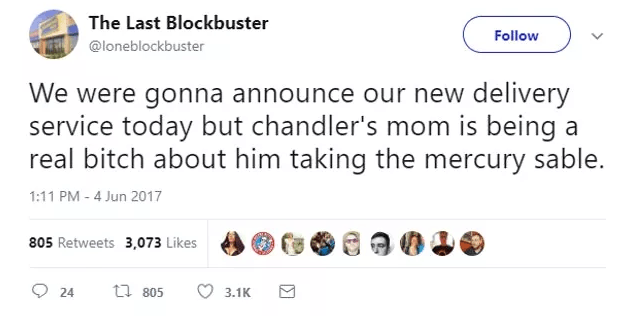 Screen Shot 2019 02 27 at 10.02.02 The World's Last Blockbuster Is Still Going And Posting Hilarious Tweets