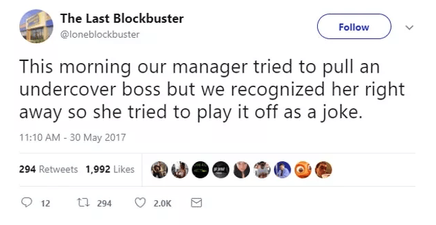 Screen Shot 2019 02 27 at 10.02.11 The World's Last Blockbuster Is Still Going And Posting Hilarious Tweets