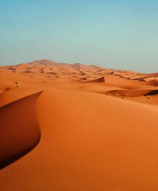 The Sahara Desert Morocco 'Blood Rain' Is Forecasted In The UK Today