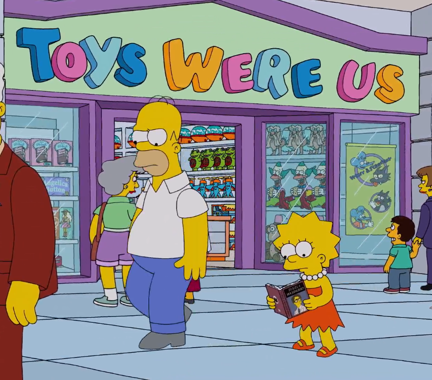 ToysWereUs e1615991093353 30 Things You Didn't Know About The Simpsons