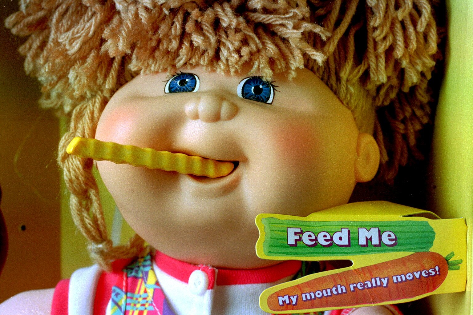 Snacktime Cabbage Patch Kid