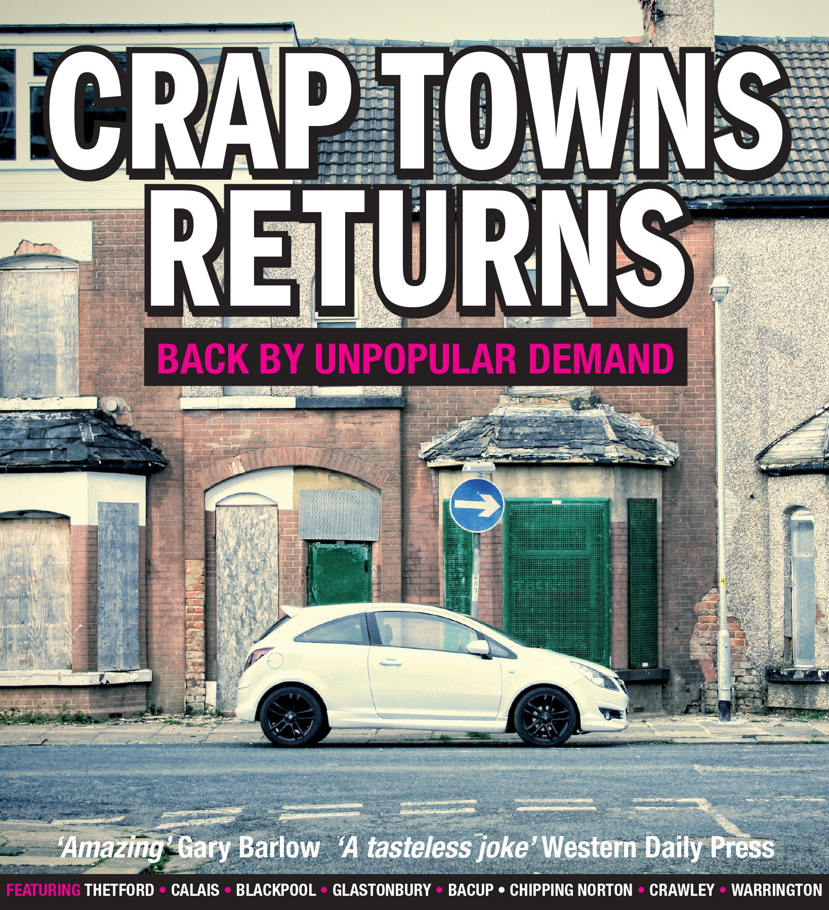 crap towns returns cover 1 Britain's Worst Towns 2019 Revealed