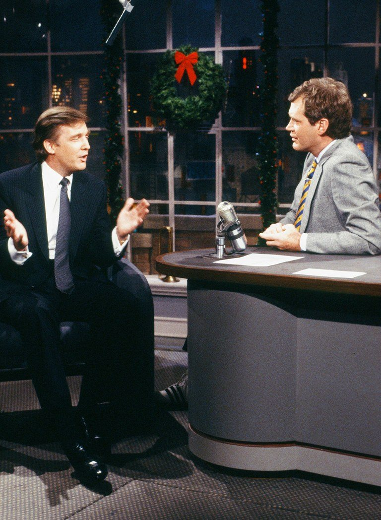 david letterman donald trump jimmy fallon interview 25 Things You Never Knew About David Letterman