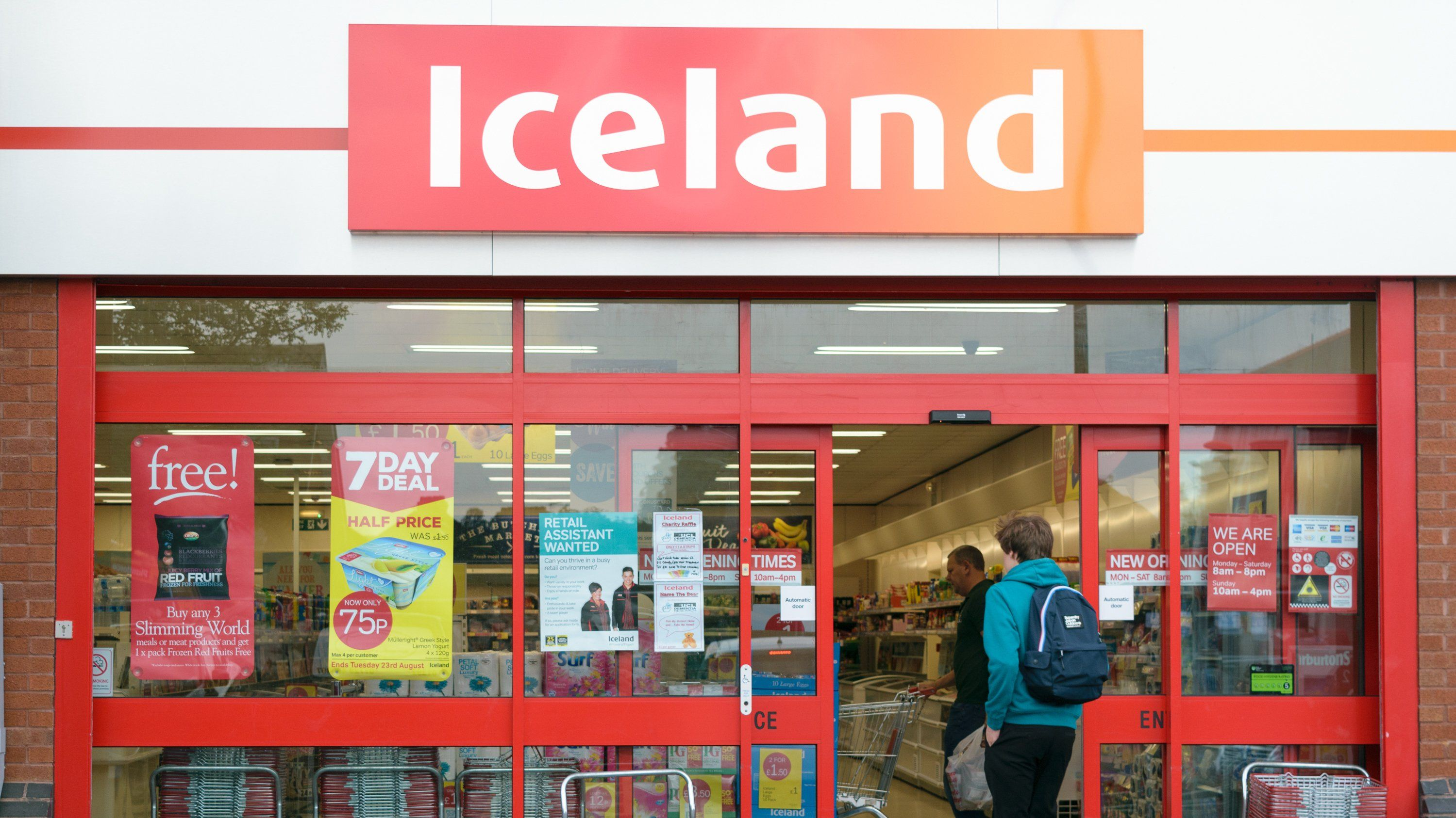 hero iceland shopping Iceland's £5 Pizza And Wine Deal Is Back By Popular Demand