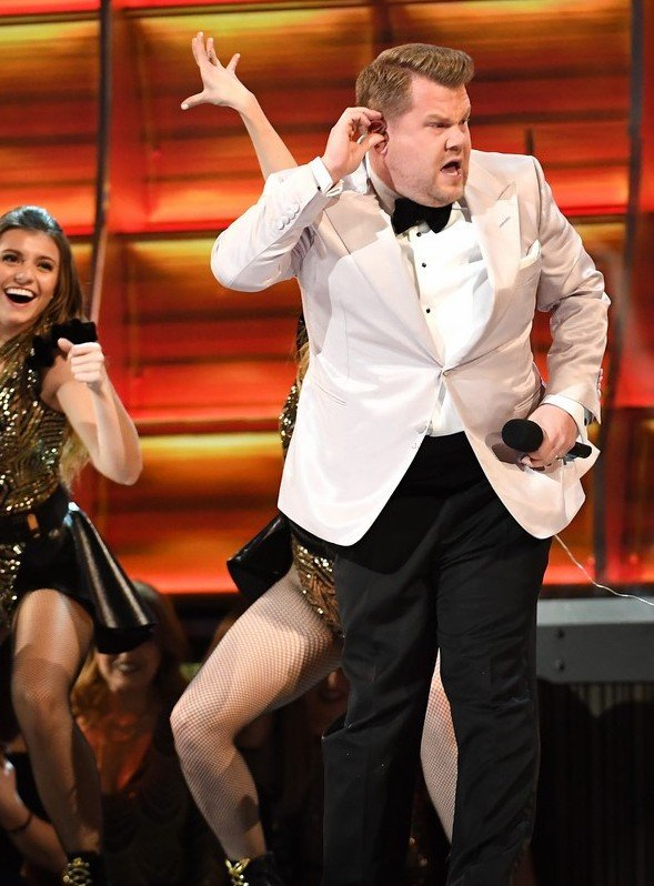james corden grammys 2017 opening 09 25 Things You Didn't Know About James Corden
