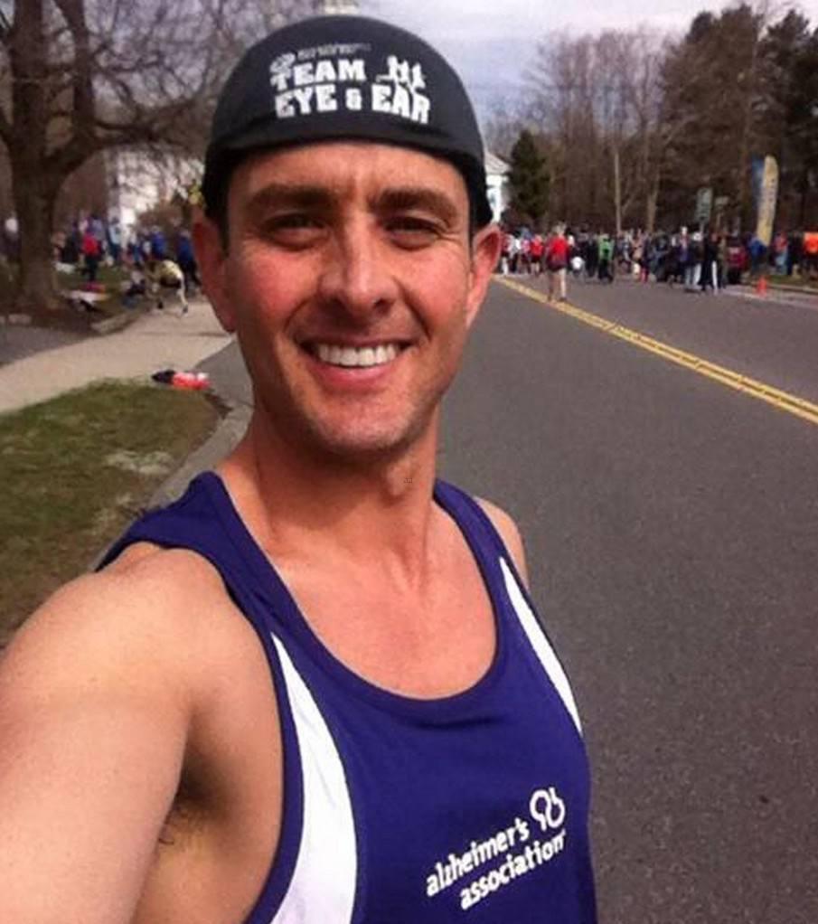 Joey McIntyre Instagram selfie at the 2013 Boston Marathon