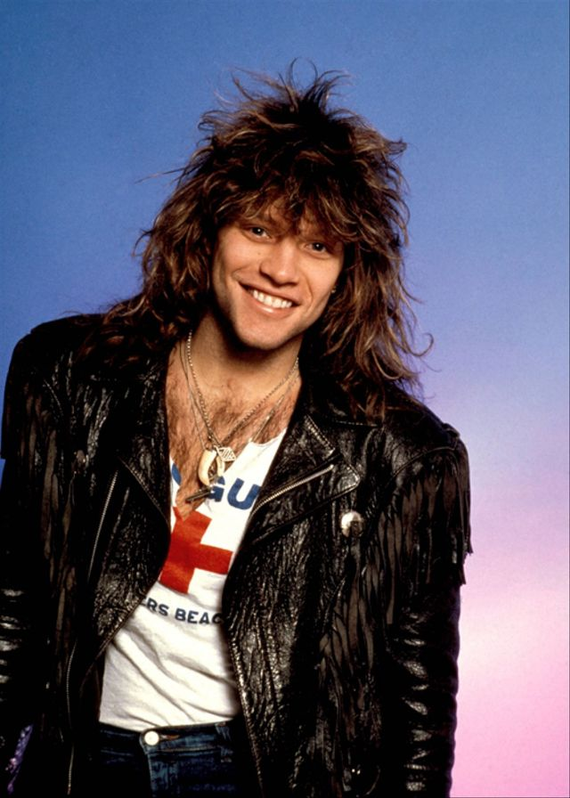 jon bon jovi 1980s 8 These Celebrities Were Expelled From School. The Reasons Why Will Surprise You!