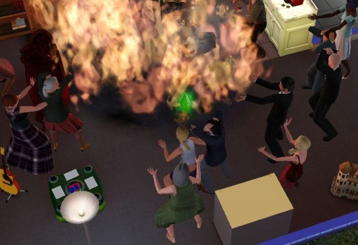 landscape 1468424661 partyfire People Describing The Worst Things They've Ever Done To Their Sims Proves Humanity Is The Worst
