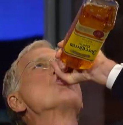 letterman drinking 25 Things You Never Knew About David Letterman