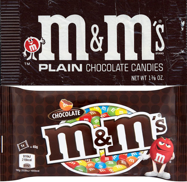 mms then and now You Won't Believe How The Packaging Has Changed On Your Favourite Snacks