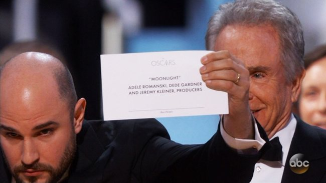 moonlight best picture oscars 2017 academy awards The 10 Craziest Things That Ever Happened At The Oscars