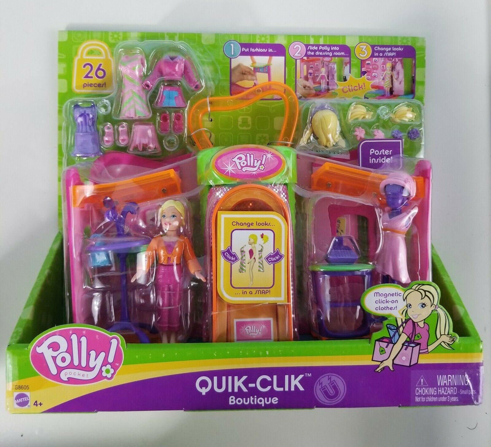 Quik Clik Polly Pocket