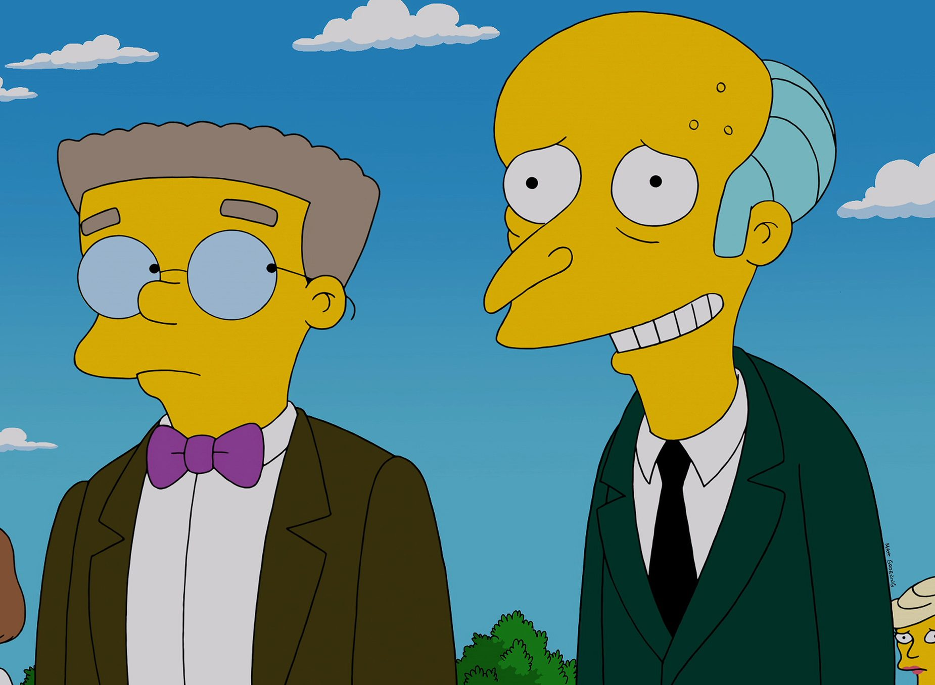 smithers burns today 150928 tease 01 9f523bbcd53e1a0392d9a1cc896fa2ff e1615995194350 30 Things You Didn't Know About The Simpsons