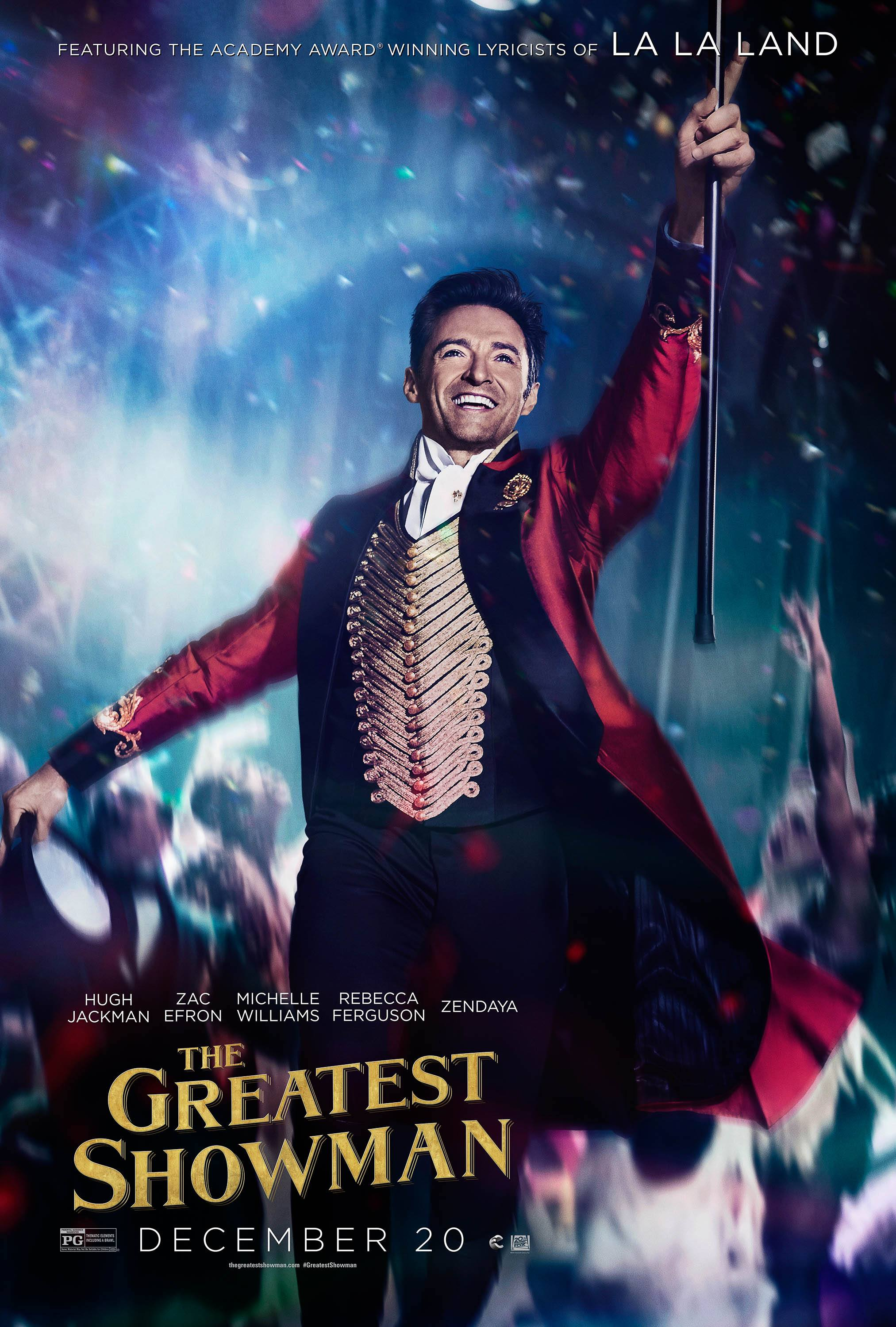 the greatest showman posters 2017 tgs barnum 01 hr Hugh Jackman Confirms Work Has Started On Greatest Showman Sequel