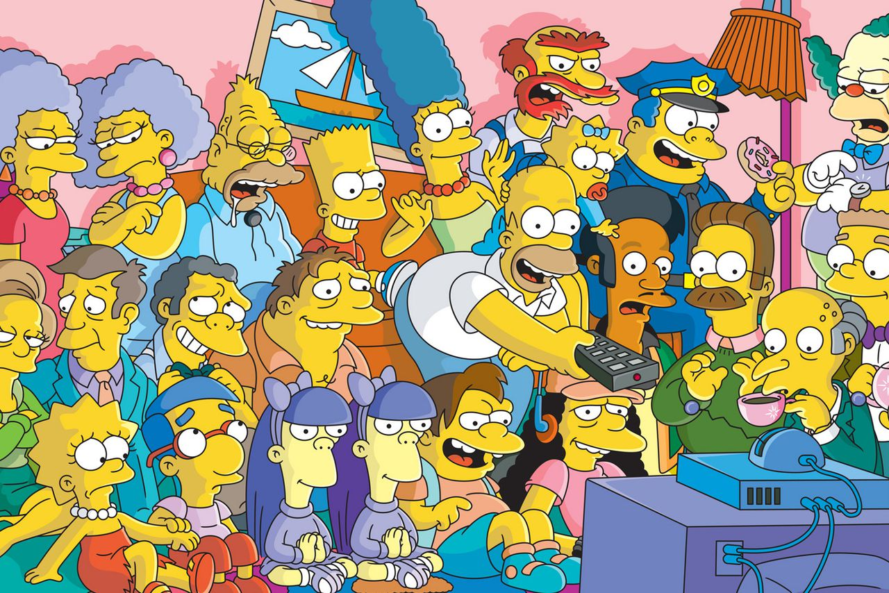 the simpsons tv series cast wallpaper 109911.0.0 30 Things You Didn't Know About The Simpsons