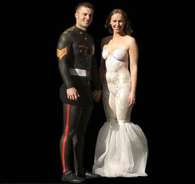 wedding dress 11 20 Of The Most Horrific Wedding Dresses In Existence