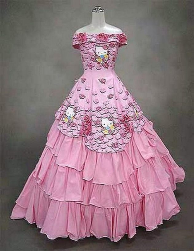 wedding dress 5 20 Of The Most Horrific Wedding Dresses In Existence
