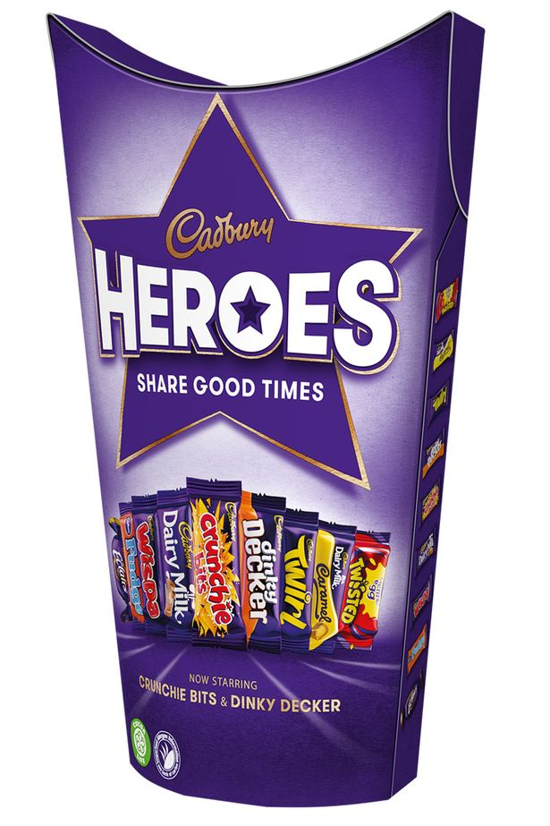 0 Heroes Cadbury Is Changing Its Heroes Mix Again
