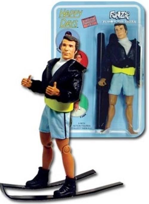 Happy Days Fonzie waterskiing toy