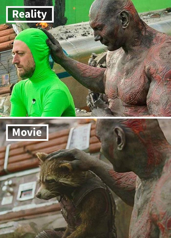 11 5c6d4759a4ebe 700 17 Famous Movie Scenes Before And After CGI