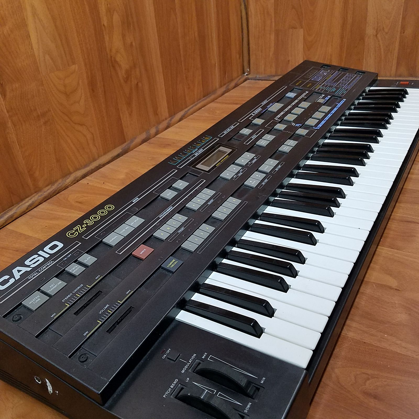 A vintage Casio keyboard from the 1980s