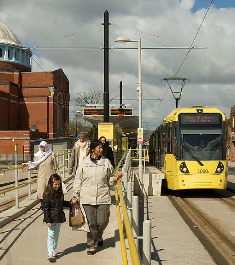 Rochdale tram, family