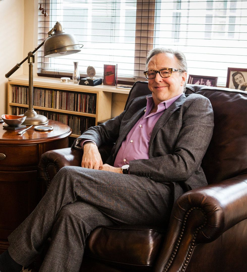 Edward Hibbert in 2015, at his home in New York West Village