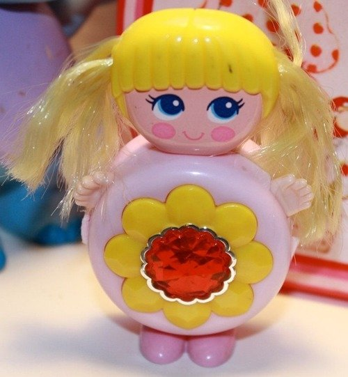 A vintage Sweet Secrets toy doll