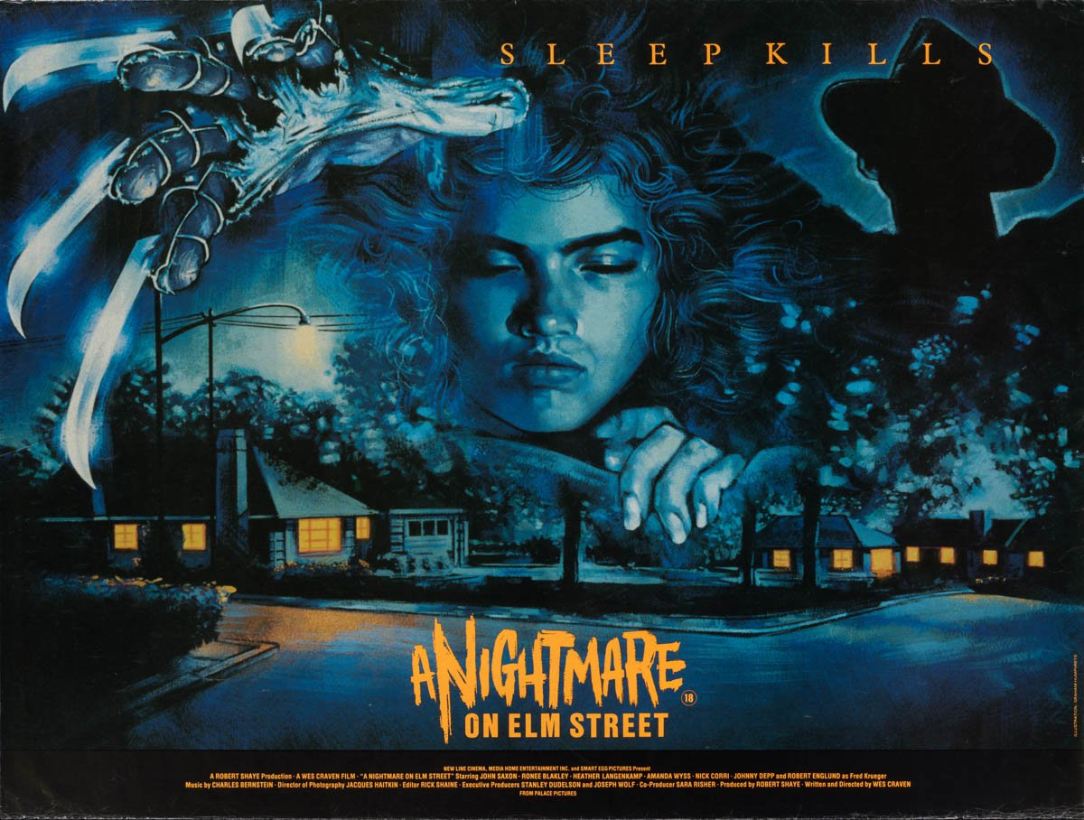 44 nightmare on elm street uk quad 1984 01 A Nightmare On Elm Street Is Based On A True Story, And More You Never Knew About The Film