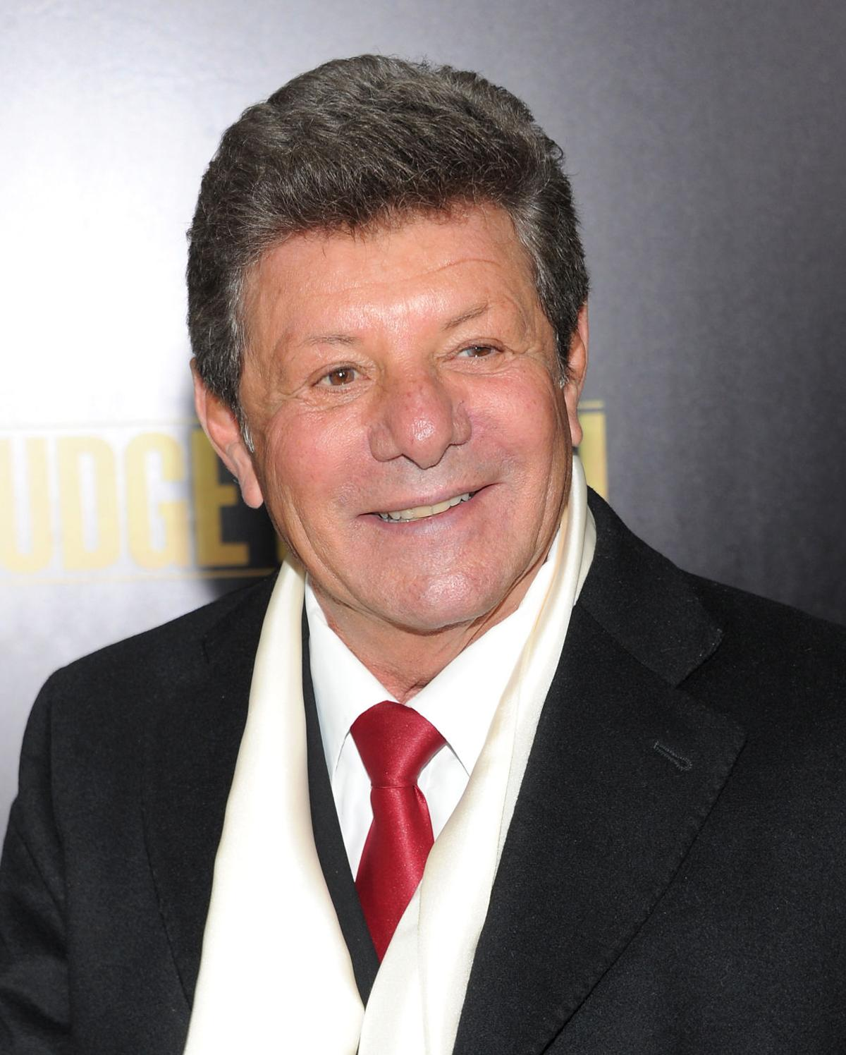 Frankie Avalon at the 2013 premiere of Grudge Match