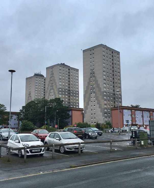 Scunthorpe tower blocks