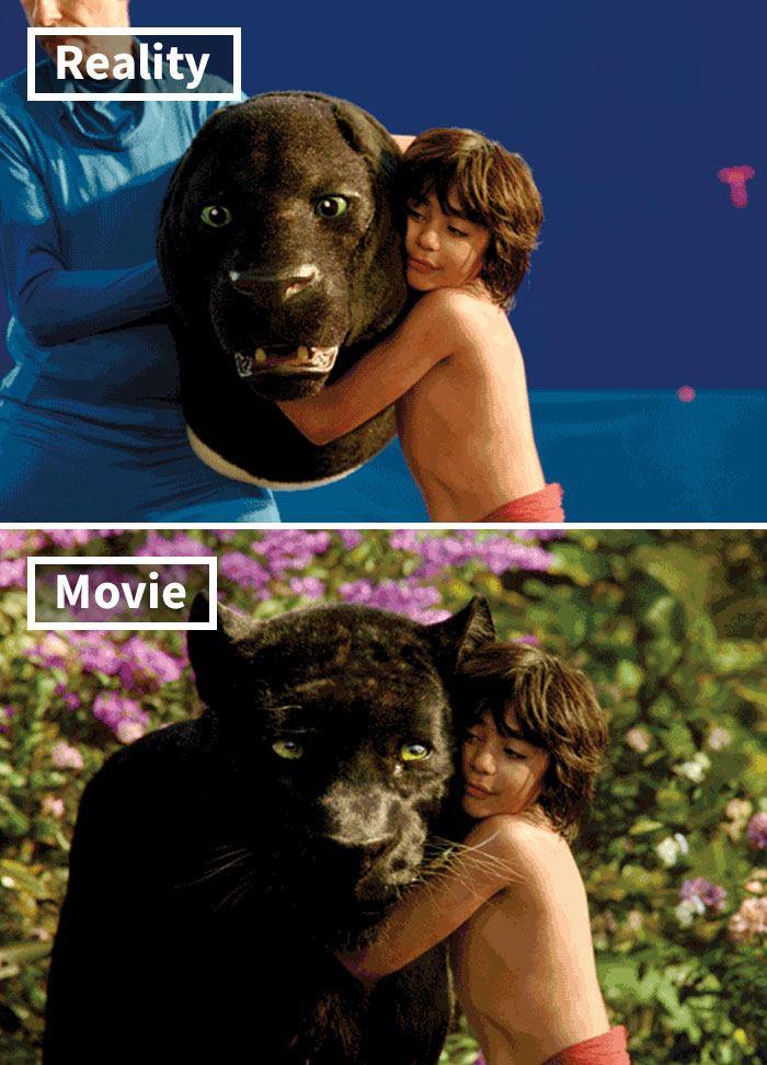 6 5c6d44fd1de8d 700 17 Famous Movie Scenes Before And After CGI