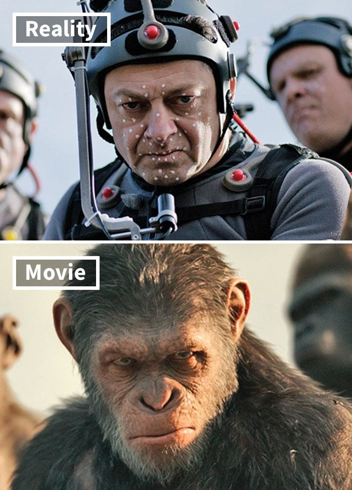 7 5c6d44eb91744 700 17 Famous Movie Scenes Before And After CGI