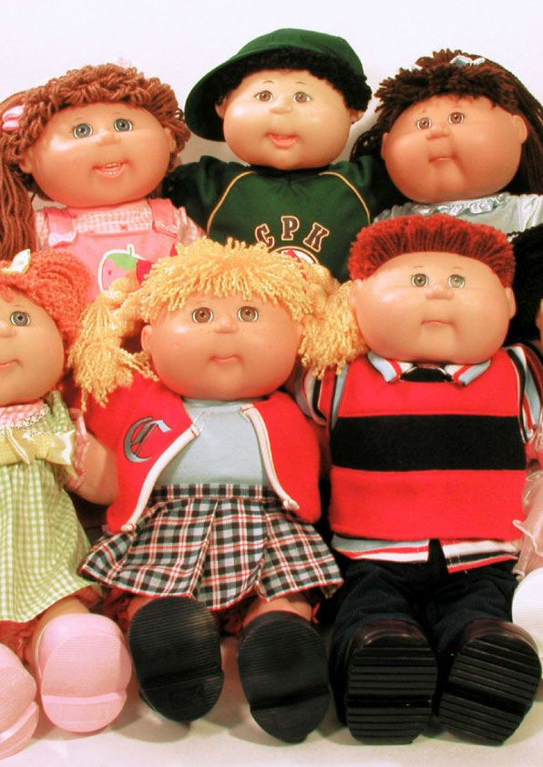 Image result for Cabbage patch dolls 1980s