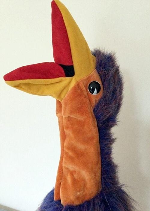 Rod Hull vintage Emu puppet