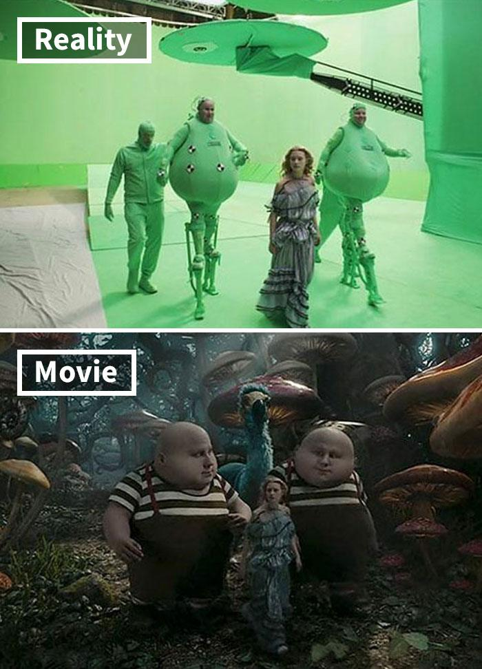 9 5c6d45901e4a3 700 17 Famous Movie Scenes Before And After CGI