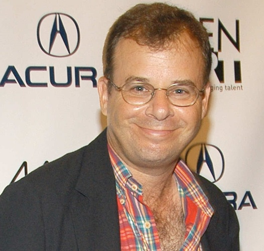 Rick Moranis on the red carpet in 2005