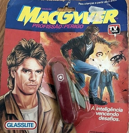 MacGyver TV show penknife