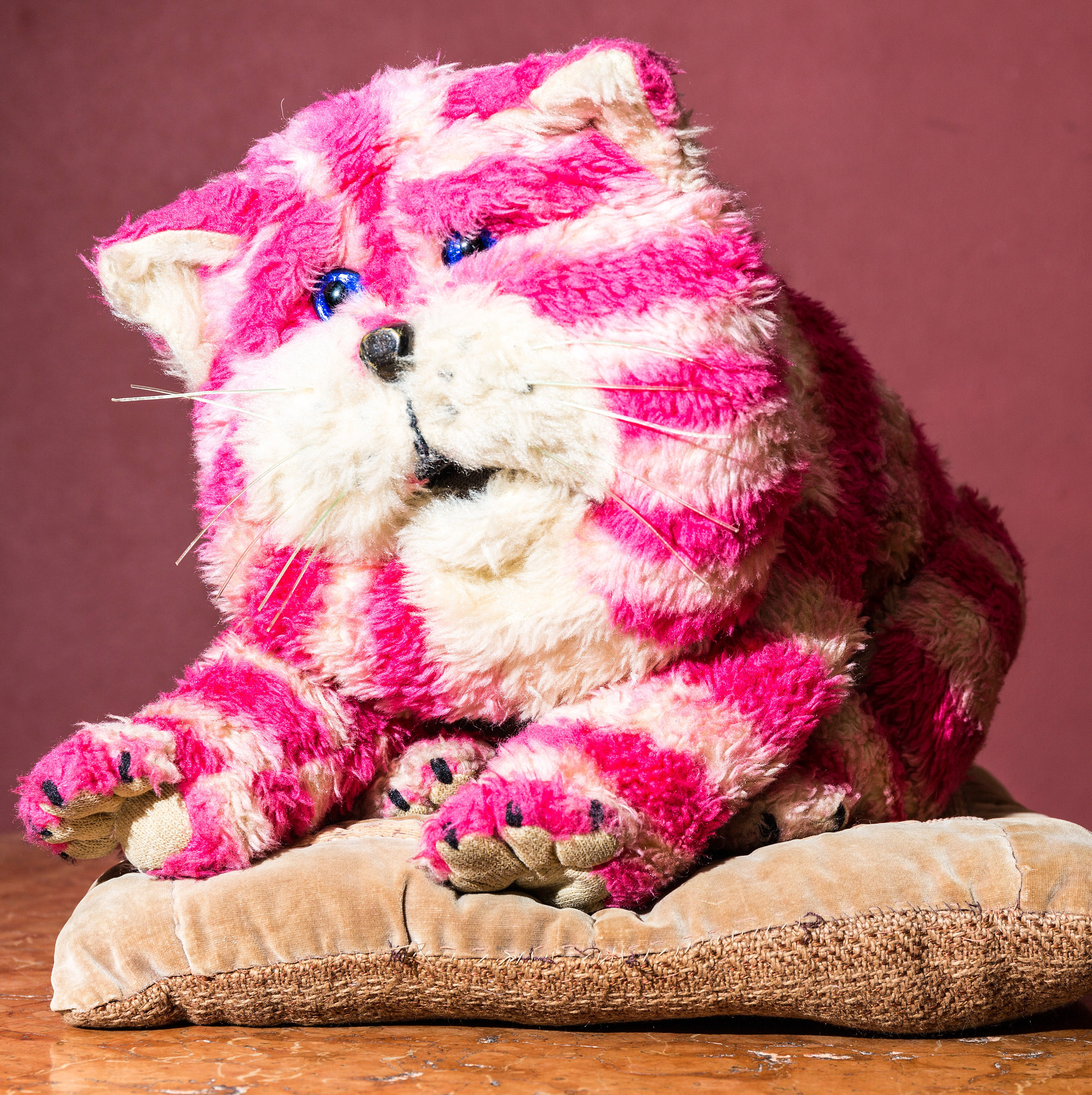 Vintage Bagpuss the cat plush toy