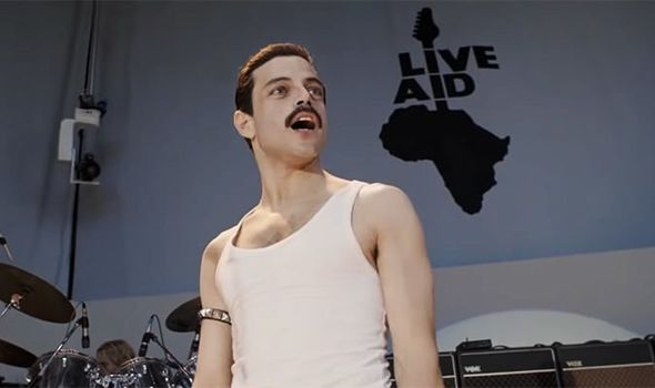 Bohemian Rhapsody Rami Malek as Freddie Mercury at Live Aid 1087919 This Is The Complete Side By Side Comparison Of Freddie Mercury And Rami Malek At Live Aid