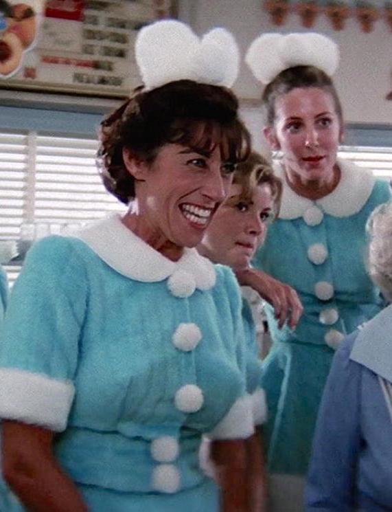 Ellen Travolta as a waitress in Grease