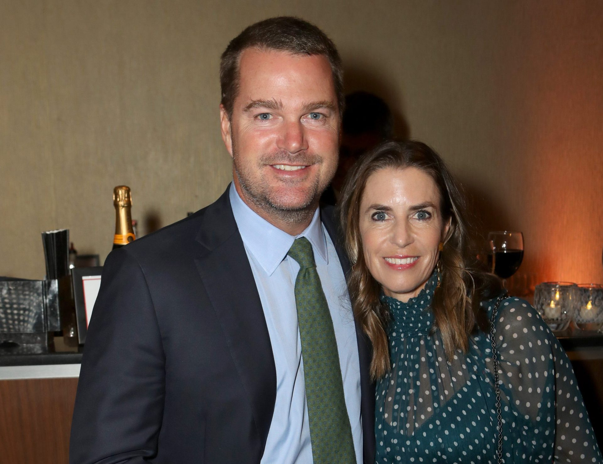 Chris O'Donnell and Caroline O'Donnell