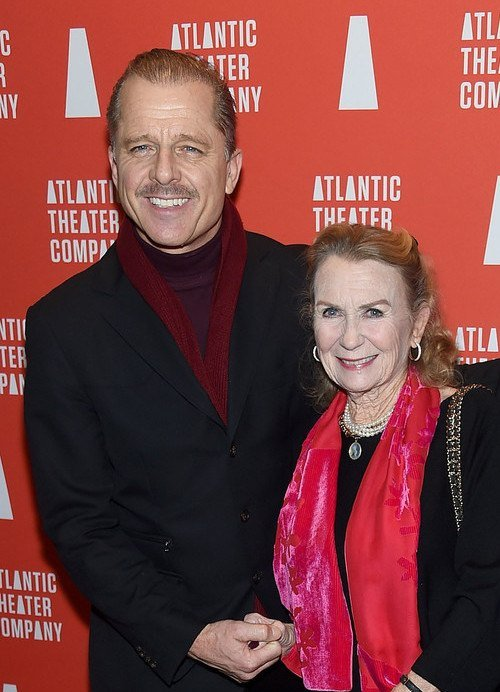 Maxwell Caulfield with wife Juliet Mills in 2018